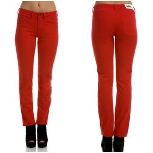 MILK Denim from Canada red skinny jeans size 26